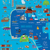 Ellen Byrne - Cityscape, Editorial, Graphic, Infographics, Maps, Maps/Charts, Pop Culture, Primitive, Travel, Vector Art, Wacky, Whimsical